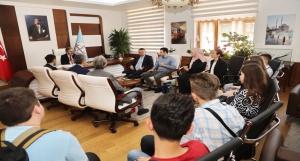 Vares Majdan Heyeti İstanbul İl Milli Eğitim Müdürlüğünde - 27.04.2018