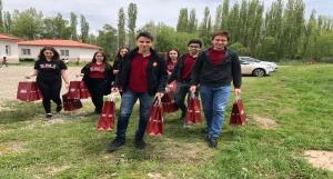 Kulüp Üyeleri Yardımları Teslim Etti - 28.05.2018