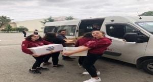 Yardım kolileri kargo ile gönderiliyor - 24.05.2018