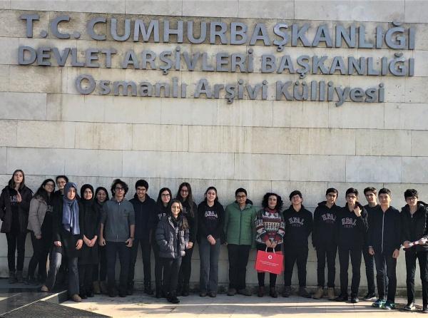 Osmanlı Arşivi Ve Müze Gezisi Haydarpaşa Lisesi