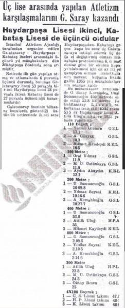 Milliyet - 19.04.1954
